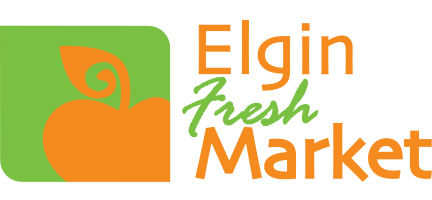 A theme logo of Elgin Fresh Market